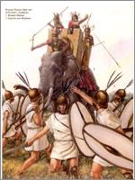 Боевой слон. Иллюстрация к статье Георгия Костылева «Военно-исторические хохмы»