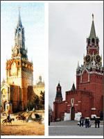 Рис. 2. Спасская башня 1491 года постройки