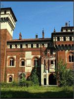Рис. 3. Замок Россо (красный) недалеко от Турина
