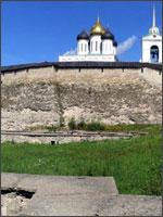 Рис. 4. Псковский кремль