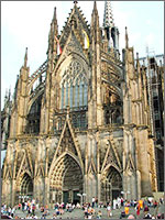 Кёльнский собор. Построен в XIX веке