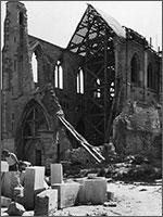 Реконструкция Аббатства Сен Жермен в Дарденнах (Германия), 1949 г.
