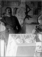 Камнерезная мастерская. Германия, 1916 г.