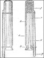 Петровская сигнальная ракета образца 1717 года