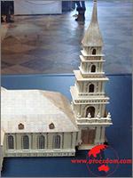 Макет второй Исаакиевской церкви