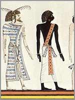 Амазихи – белые люди севера Африки. Египетское изображение Ливийца