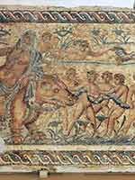 Амазихи – белые люди севера Африки. Мозаика на вилле в Триполи
