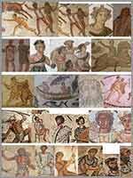 Амазихи – белые люди севера Африки. Изображения берберов на «римских» мозаиках