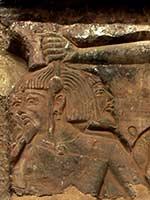 Ливийские пленники Рамзеса III, стелла в Мединет-Абу