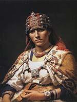 Дайя эль-Кахина – предводительница восстания берберов против арабов