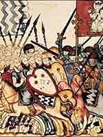 «Книга игр» 13 век: христианин и мусульманин играют в шахматы