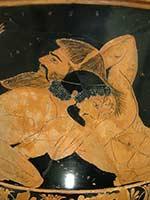 Кратер Ефрония, 515-510 гг. до н.э., Лувр