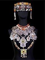 Берберские традиционные украшения. Экспонаты Музея Берберов, Сад Мажорель, Марокко