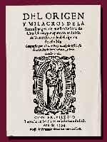 «История Богоматери Канделарийской» (Historia de Nuestra Senora de Candelaria)