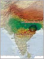 «Библейская земля Хавила». Иллюстрация из книги Н. Левашова «Россия в кривых зеркалах»