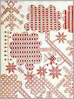 Узоры для вышивки в технике касути (kasuti). Карнатака