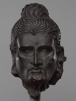 Голова постящегося Сиддхарты. Гандхара (Пакистан)