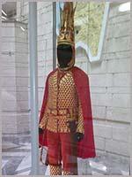 Иссыкский золотой катафрактарий. Центральный музей Казахстана