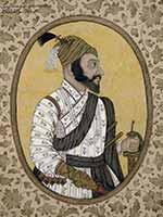 Портрет Шиваджи, хранящийся в Британском музее