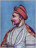 Маратхский Премьер-министр (пешва) Мадхаврао I Балал (Madhavrao I a.k.a Madhavrao Ballal)