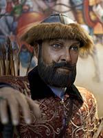Восковая фигура Тамерлана (Amir Taimur) в Музее восковых фигур в Исламабаде (Пакистан)