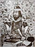 Тамерлан. Гравюра 15 века