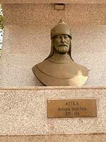 Бюст Атиллы, основателя Гуннской Империи, Сёгут, Турция
