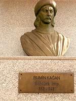 Бюст Бумын кагана, основателя Тюркского каганата