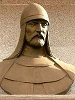 Бюст Алп-тегина, основателя династии Газневидов в Афганистане