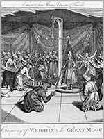 Церемония взвешивания Великого Могола