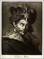 Великий Могол немецкого гравёра Йохана Хайда