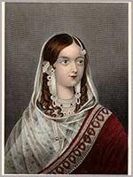 Зинат Махал младшая жена последнего правителя Могольской империи Бахадур Шаха
