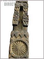 Элемент убранства храма калашей