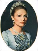 Вдовствующая императрица Ирана Фарах Пехлеви