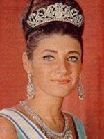 Принцесса Шахназ, дочь от первого брака шаха Ирана