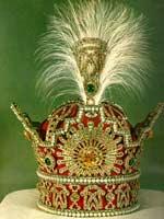 Корона иранской династии Пехлеви