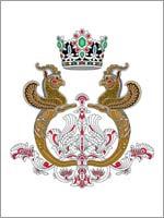 Личный герб императрицы Ирана Фарах