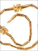Ожерелье I тысячелетия до н. э., найденное при раскопках в Гиляне