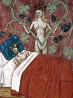 Миниатюра «сон Астиага», Франция, 15 в.