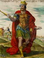 Царь Кир на гравюре Gerard de Jode