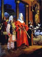 «Царь Персии Кир после покорения Вавилона» Ангуса МакБрайда (Angus McBride)