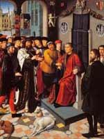 Картина «Суд Камбиза» голландского художника Герарда Давида