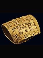 Браслет времён Ахеменидов 5 в до н.э. Колхида (совр. Грузия)