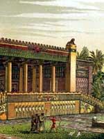 Персеполь. Дворец Дария, реконструкция