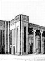 Дворец Дария в Сузах. Реконструкция