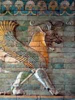 Дворец Дария в Сузах