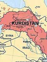 Территория проживания курдов