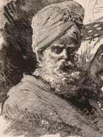 Езид с фолитографии М.О. Микешина «Типы Кавказа», 1876