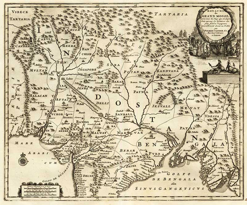 Белые люди с Севера в древности помогли индусам выжить